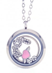Locket necklace with charms inside beautiful jewelry locket necklace charms inside aloadofball Images
