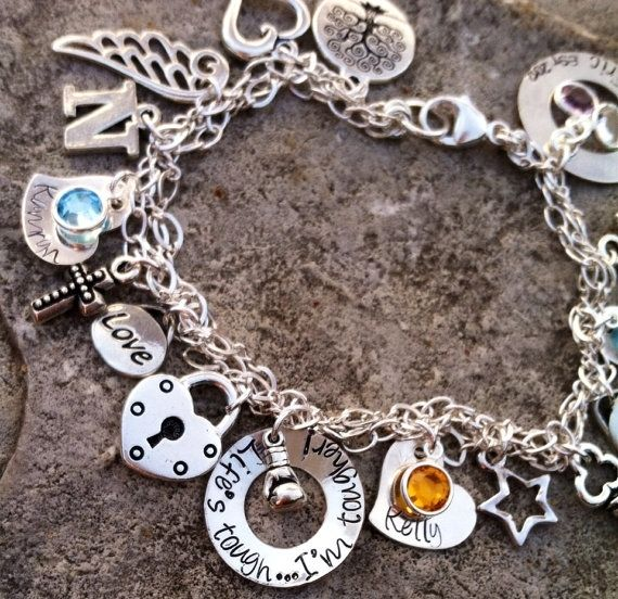 Own Personalized Charm Bracelet