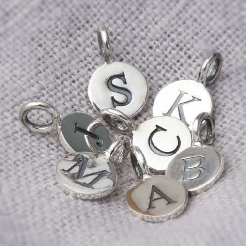 Letter Charms for Bracelets and Necklaces   Beautiful Set